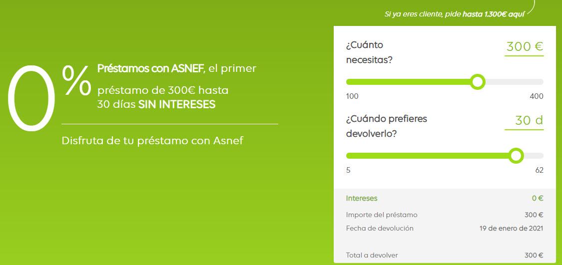 mejores creditos rápidos con ASNEF