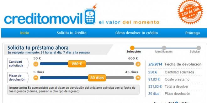 Creditomovil: opiniones sobre el portal de préstamos rápidos