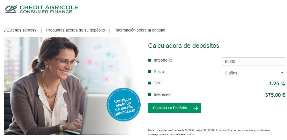 mejores depositos bancarios españoles