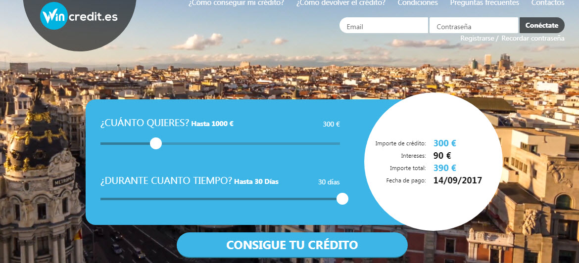 wincredit comentarios