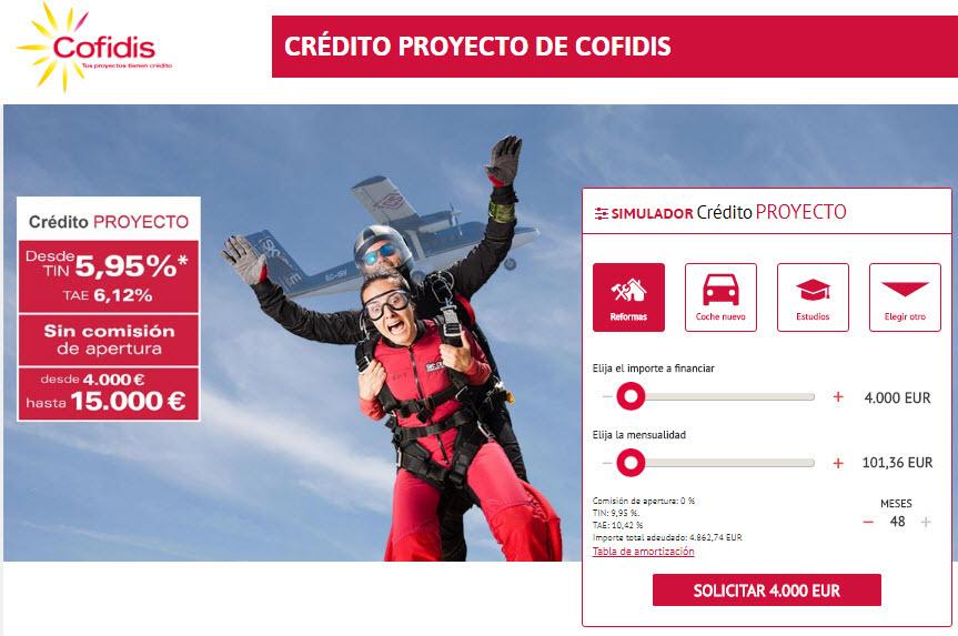 cofidis credito proyecto
