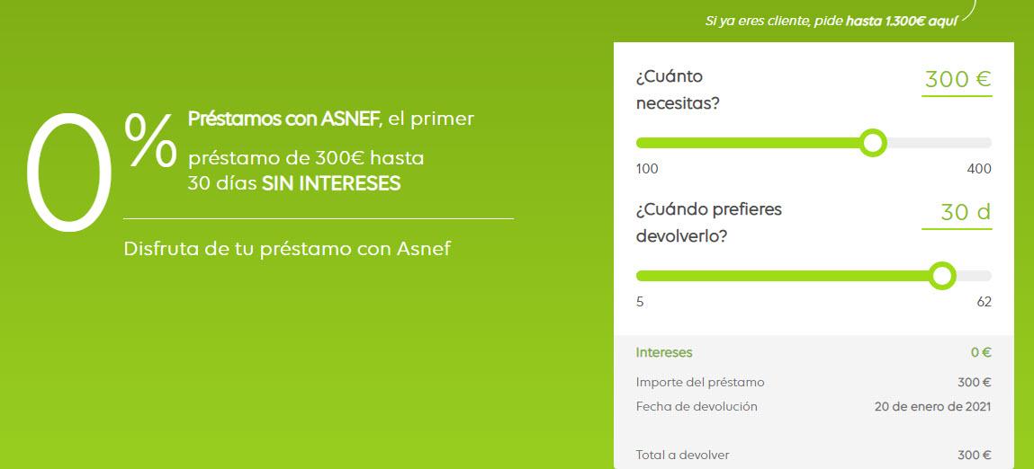 Mejores Mini créditos rápidos con ASNEF